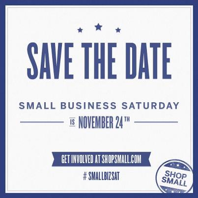 Small Business Saturday, November 24th, 2012