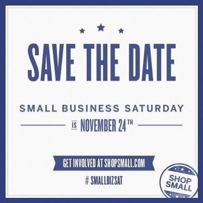 Small Business Saturday, November 24th, 2012