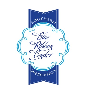 Southern Weddings Blue Ribbon official badge 2012